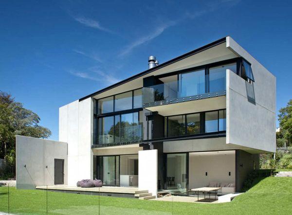 Precast Concrete Walls House In New Zealand Architecture Architect Architecture House