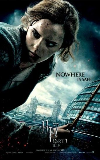 11x17 Inch Harry Potter And The Deathly Hallows Part 1 Movie