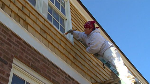Ideal Temp For Painting Outdoors Paint Your House House Paint Exterior House Painting