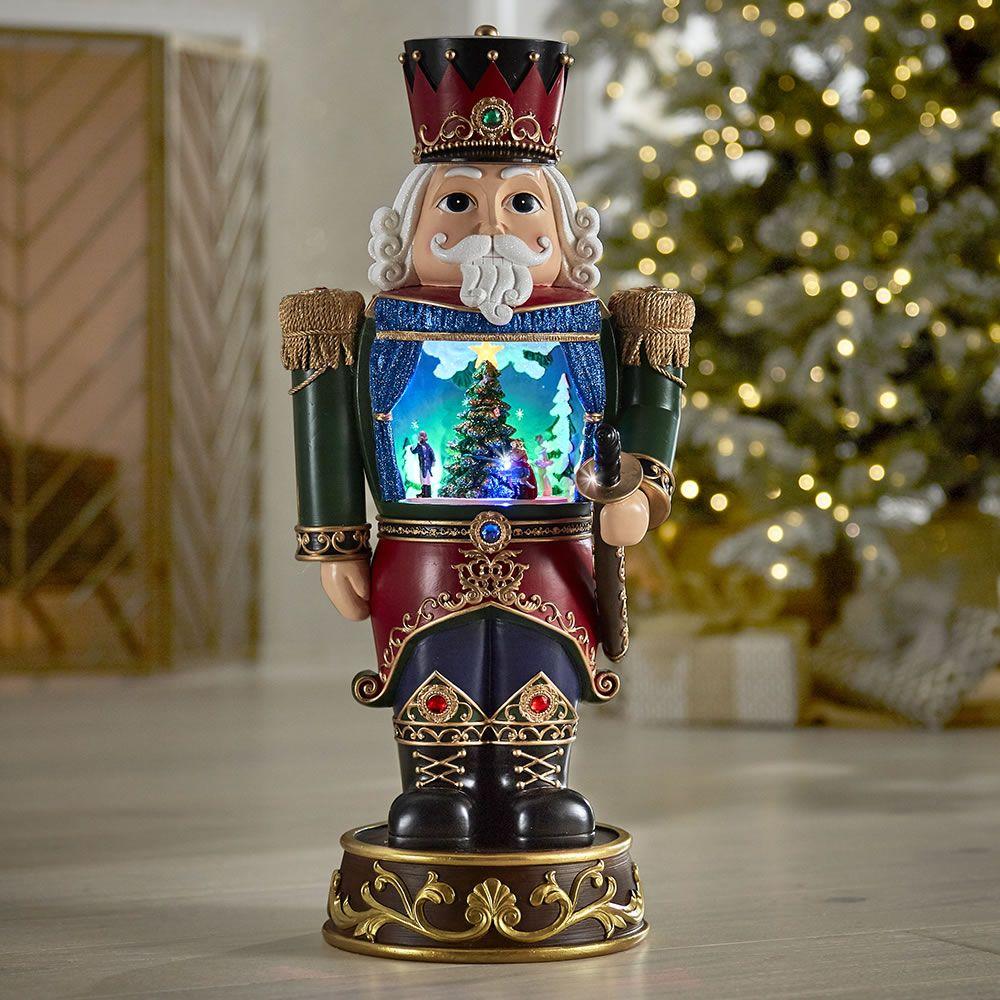 The Holiday Vignette Nutcracker - Hammacher Schlemmer