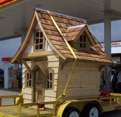 CUTE! Cottage Playhouse Plans   Download Now! Photo, Picture, Image On Use