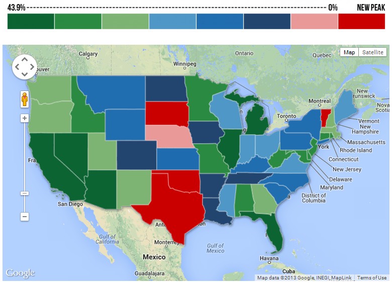 Interactive US Map United States Map Of States And Capitals - Clickable map of us