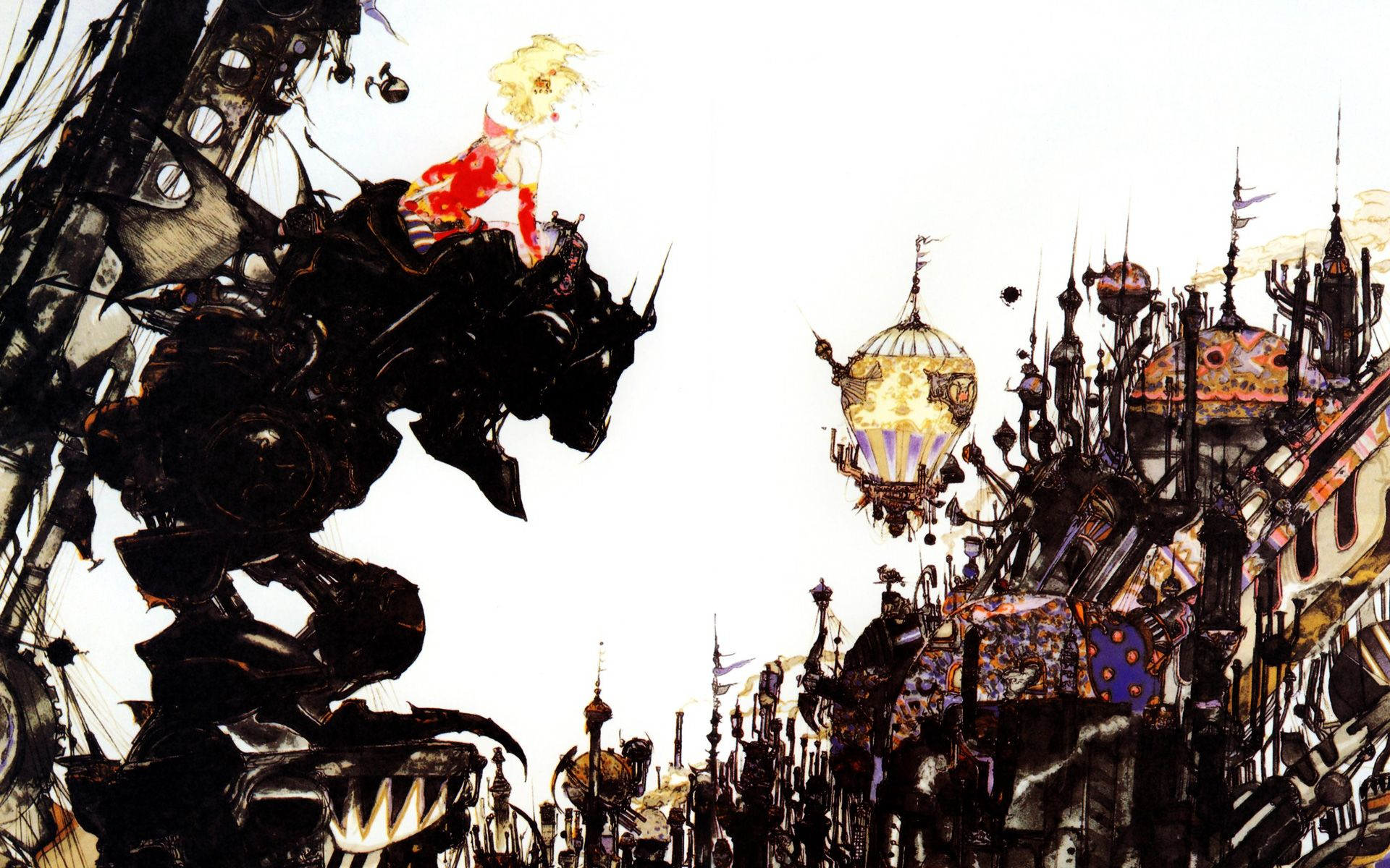 Free Final Fantasy Vi Wallpaper In 1920x1200 天野喜孝 天野