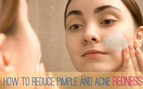 How to reduce zit redness fast