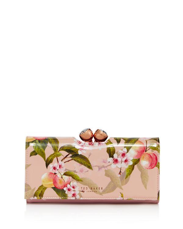 f0387b0497b Ted Baker Georgia Peach Blossom Bobble Matinee Wallet | Ted baker ...
