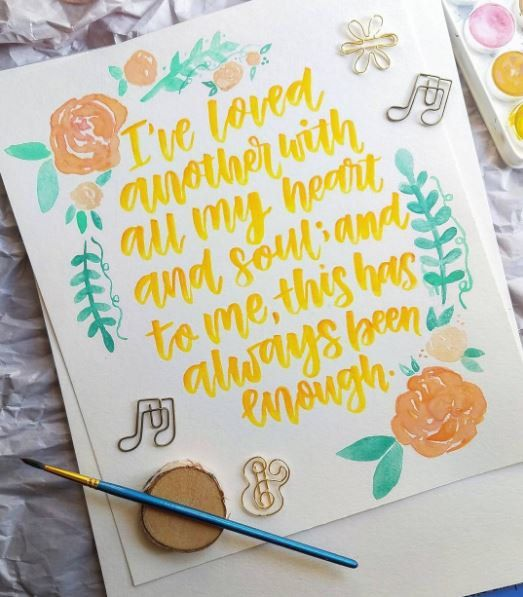 The Notebook Noah and Allie quote Matte Print OR Poster Hand Written ...