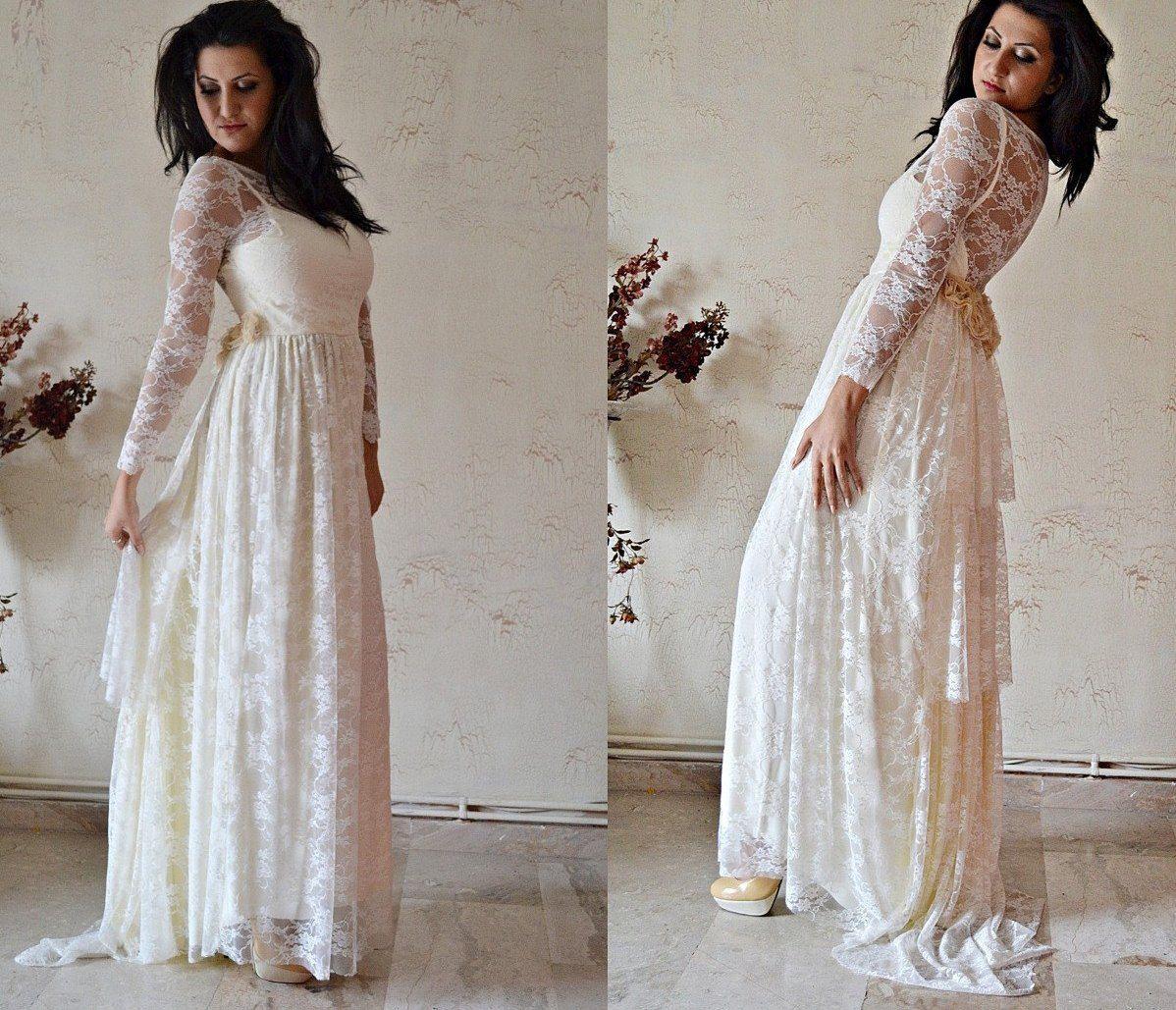 Boho Chic Wedding Dress