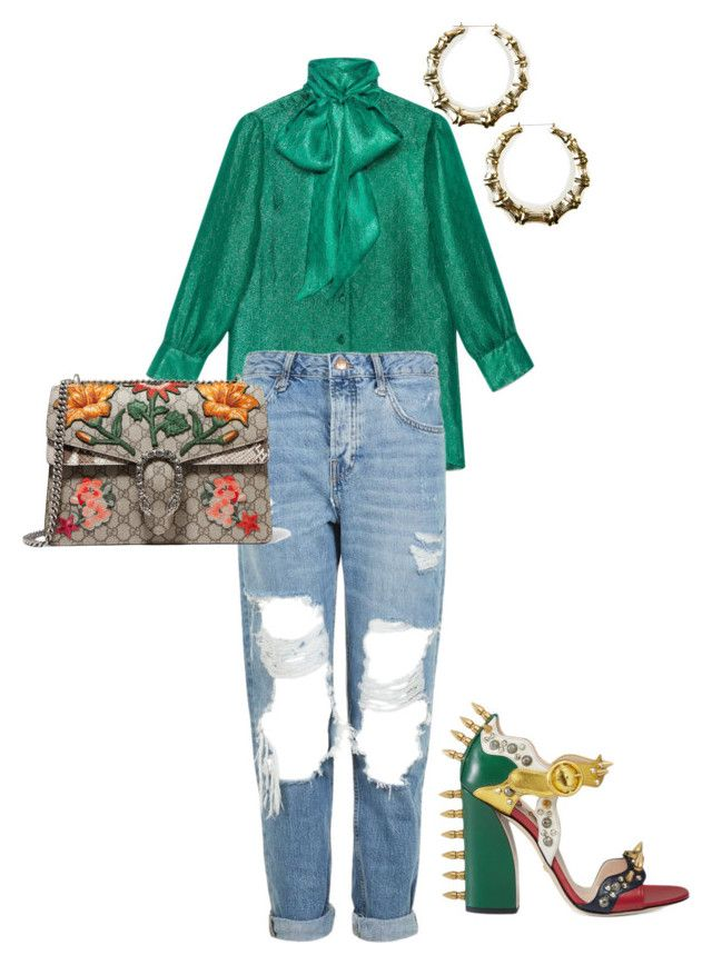 """Gucci please 4"" by brittney-ison ❤ liked on Polyvore featuring Gucci, Topshop and 3 AM Imports"