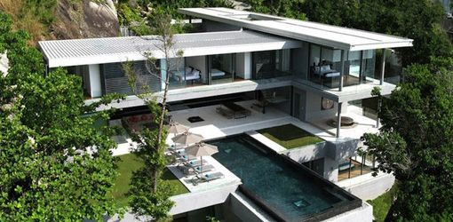 The Luxury Villa (Amanzi) Is In Phuket Island, Thailand. It Has Six