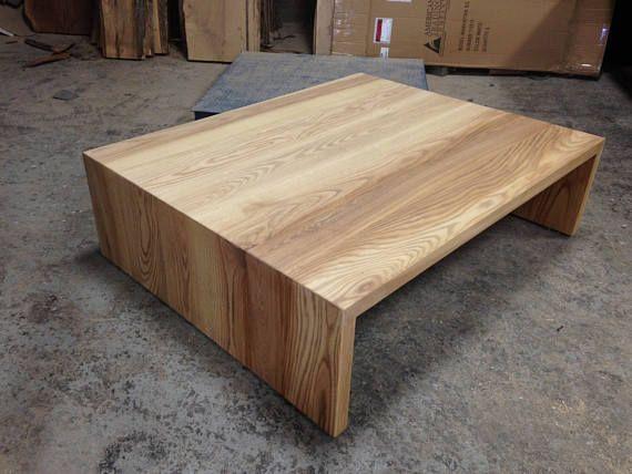 Ash Waterfall Coffee Table By Lorimer Studios Coffee Table