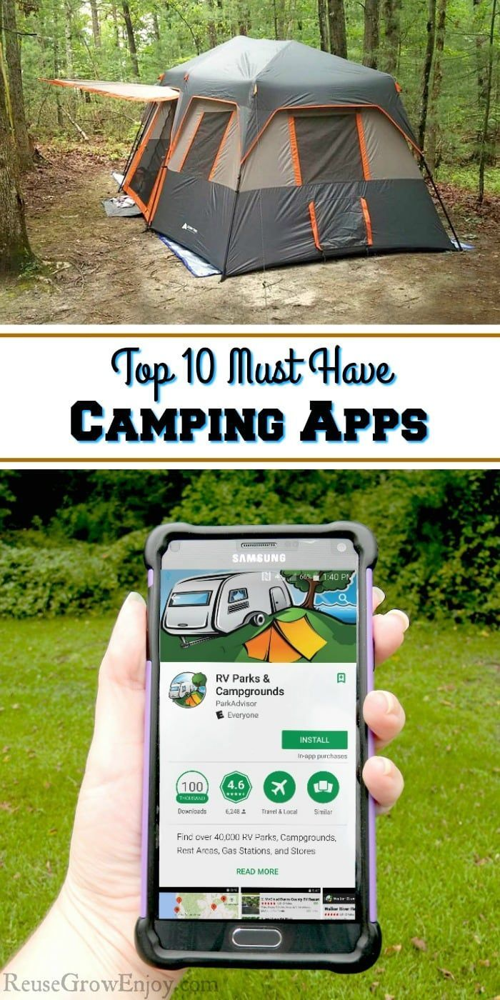 Photo of Top 10 Must Have Camping Apps – Reuse Grow Enjoy