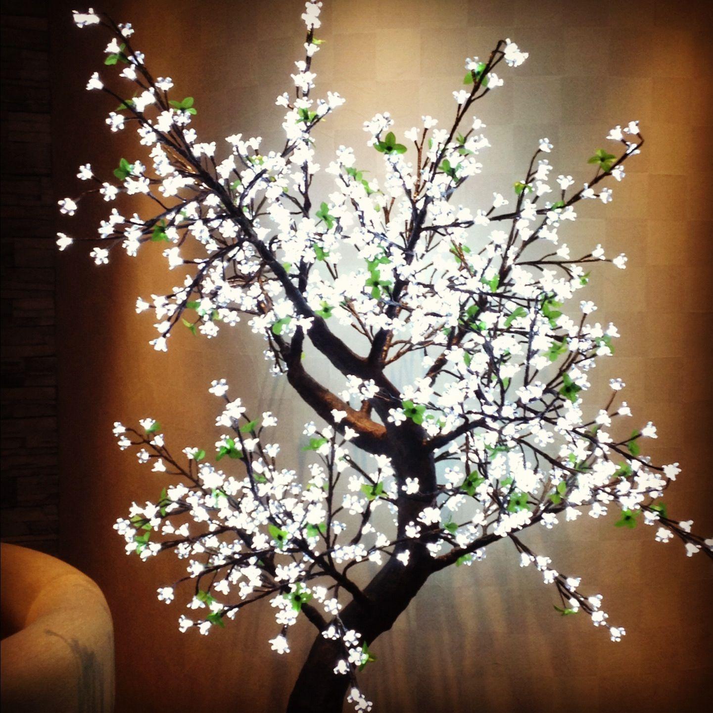 Led light cherry blossom tree #modernchristmas in 2019 ...