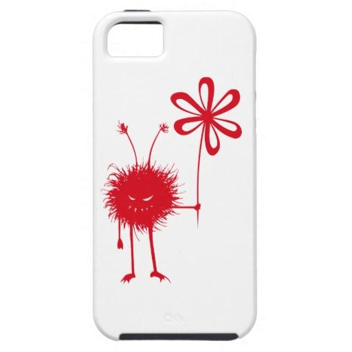 Tough Red Evil Flower Bug iPhone 5 Cases $47.95 #iphone #iphone5 #iphonecase