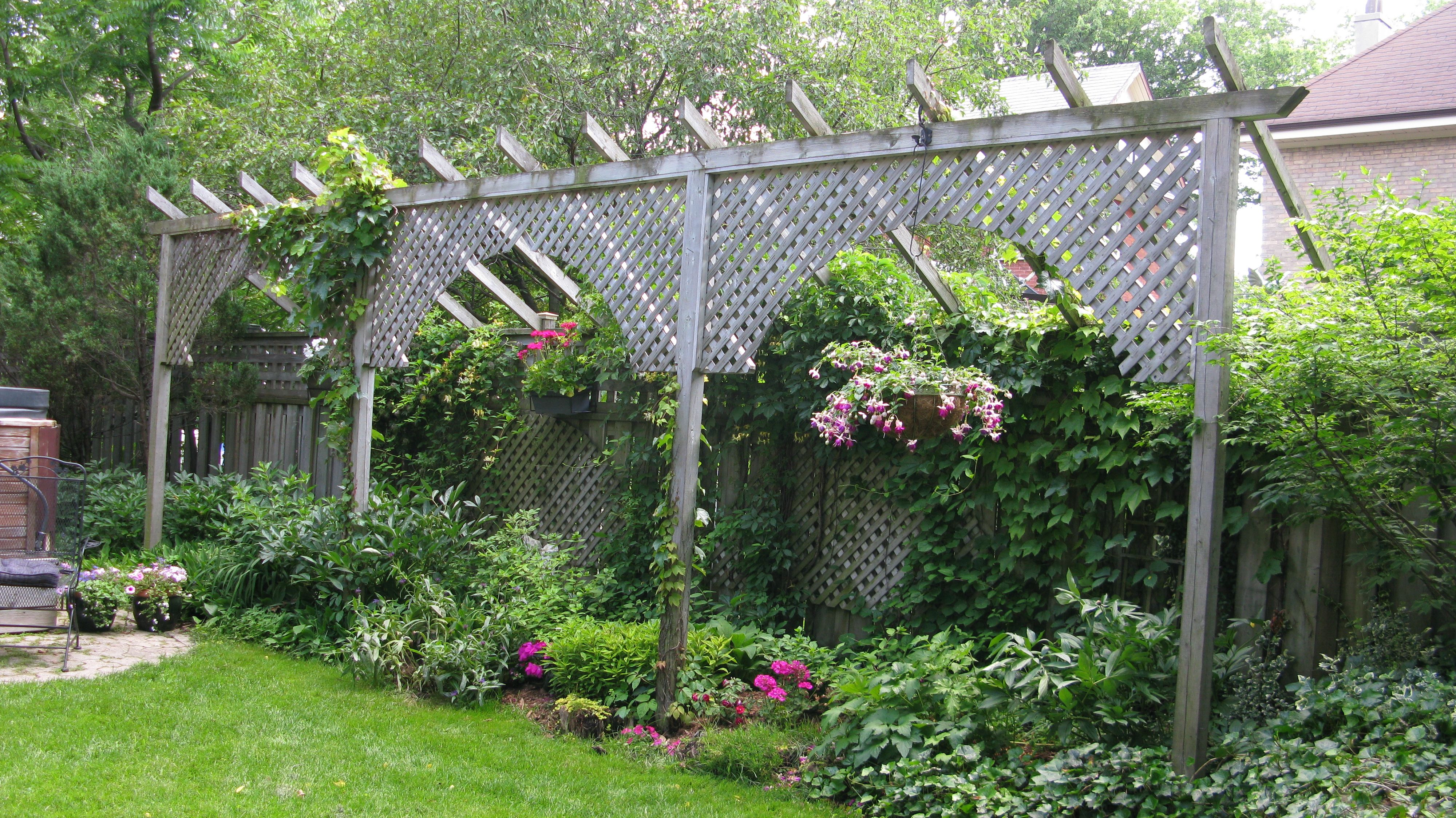Medium Of Backyard Fence Art