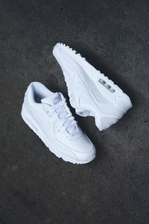huge discount 0fc25 34799  Nike  Air  Max 90  beasophiachambe I might get these but I can t find the  white ones in the stores More. Women s Nike Shoes .