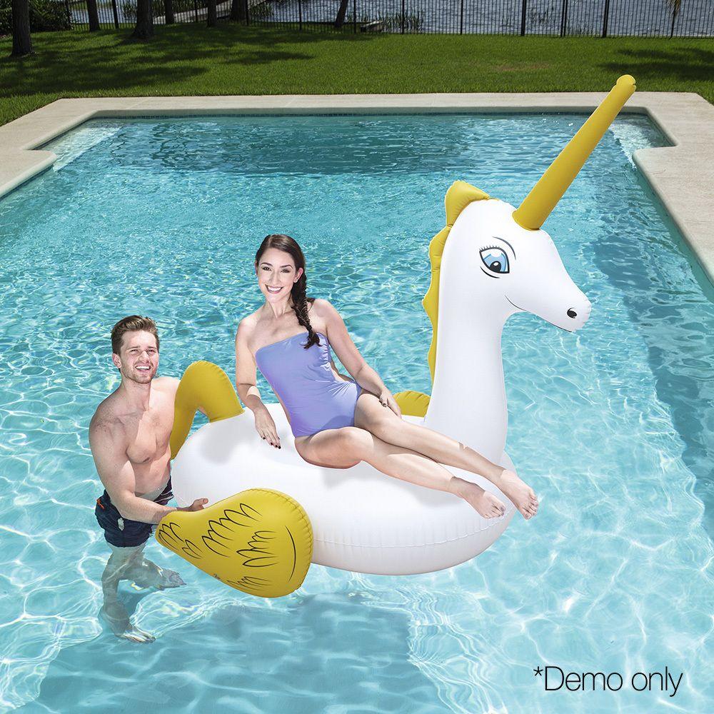 Bestway inflatable pool float raft unicorn pool float
