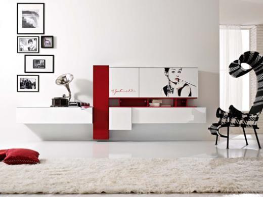 Pianca mobiliario m dulos a pared para el comedor for for Modulos para comedor