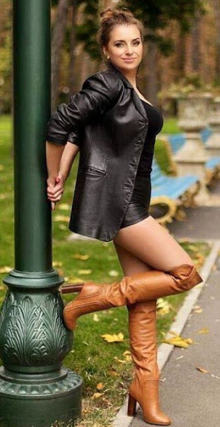Pin by chris on boots   Cognac boots outfit, Otk boots