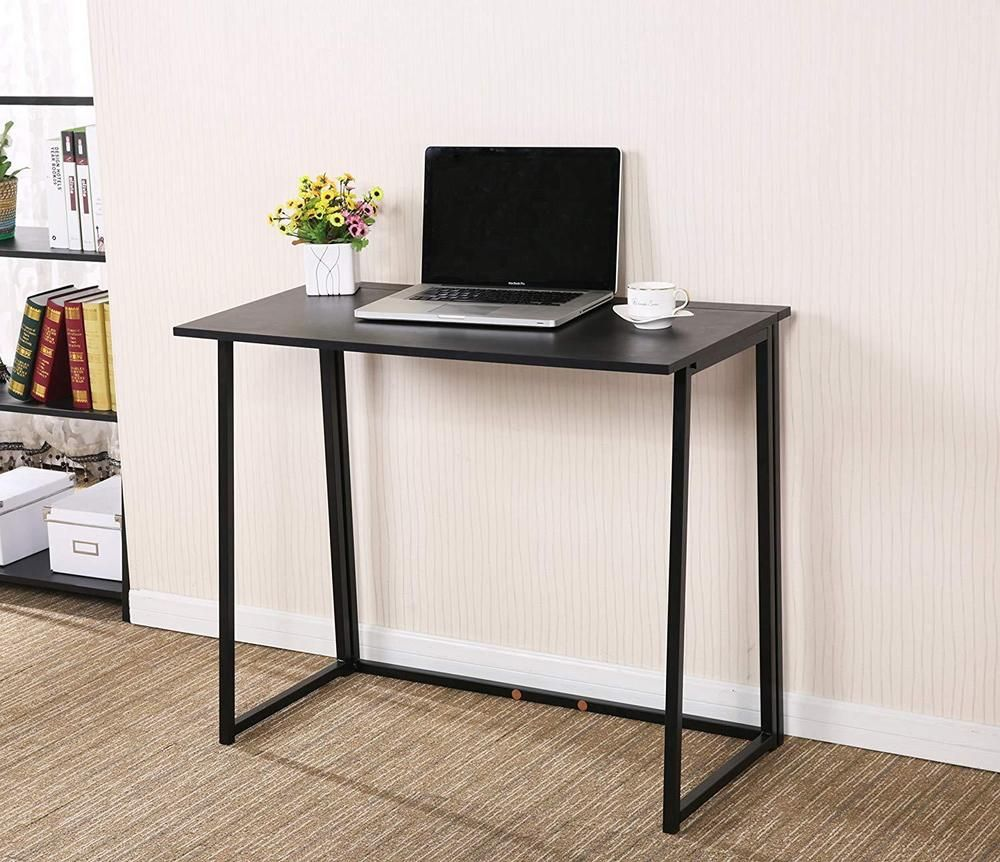 Modern Compact Computer Desk Black Folding Computer Desk Modern Compact Home Office Study Room