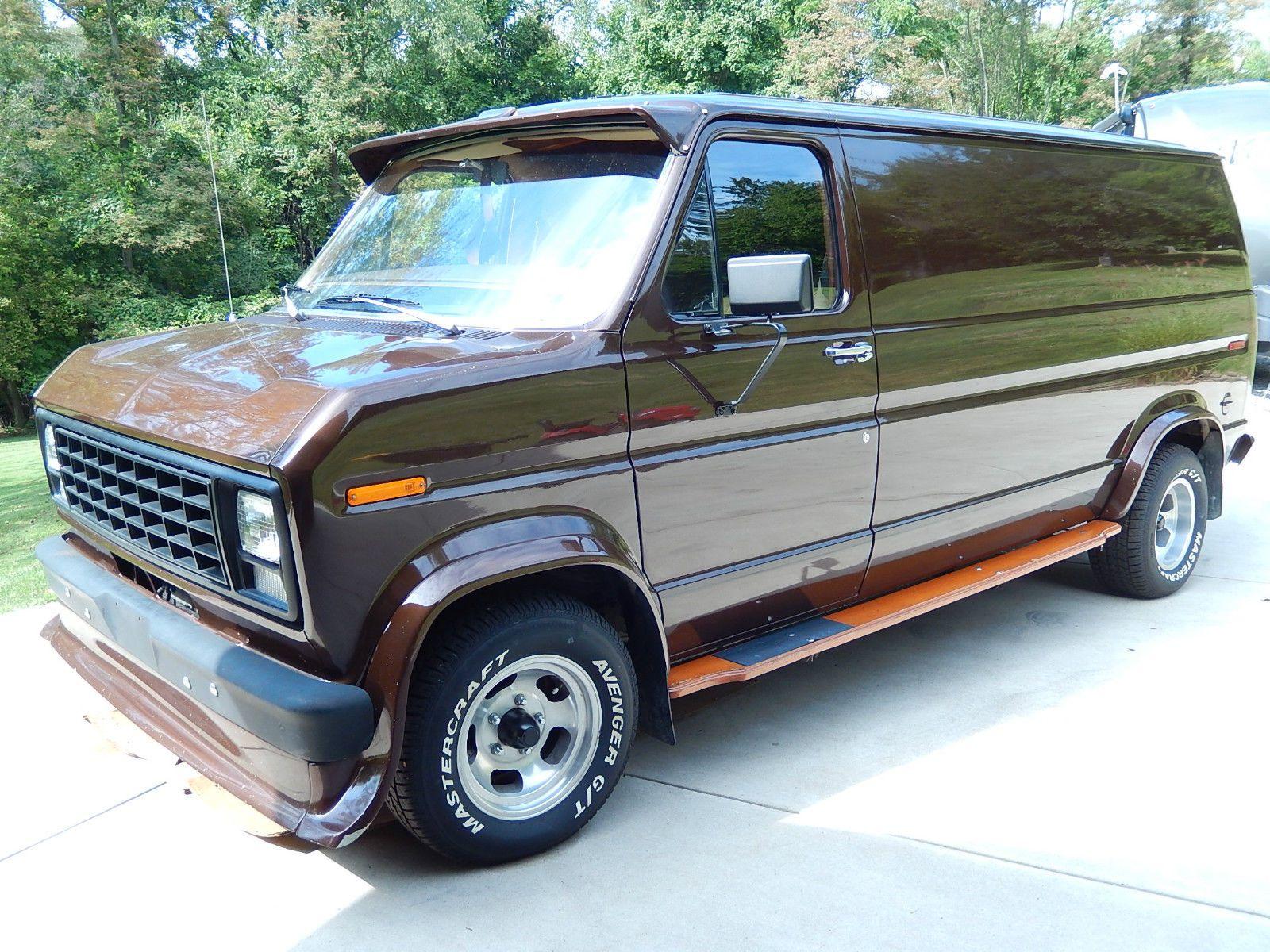 1979 Ford Ford Custom Van Custom Vans Vintage Vans