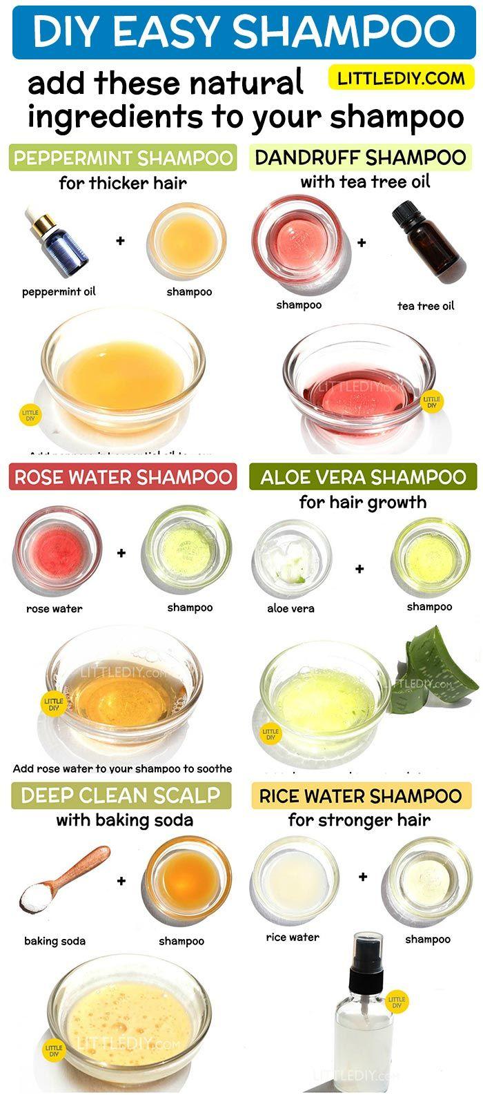 DIY EASY SHAMPOO RECIPES Tea tree oil shampoo