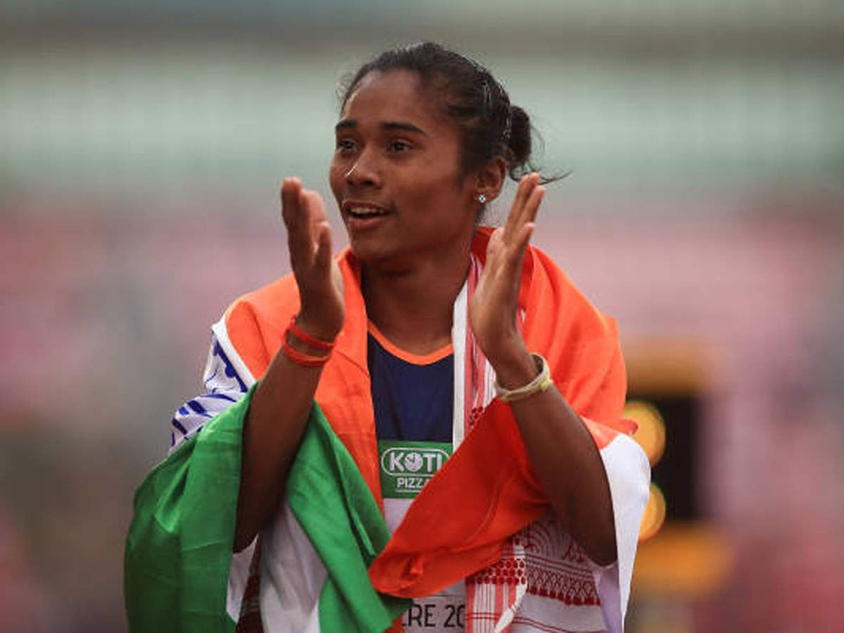 Hima Das to receive government funding till Tokyo Olympics