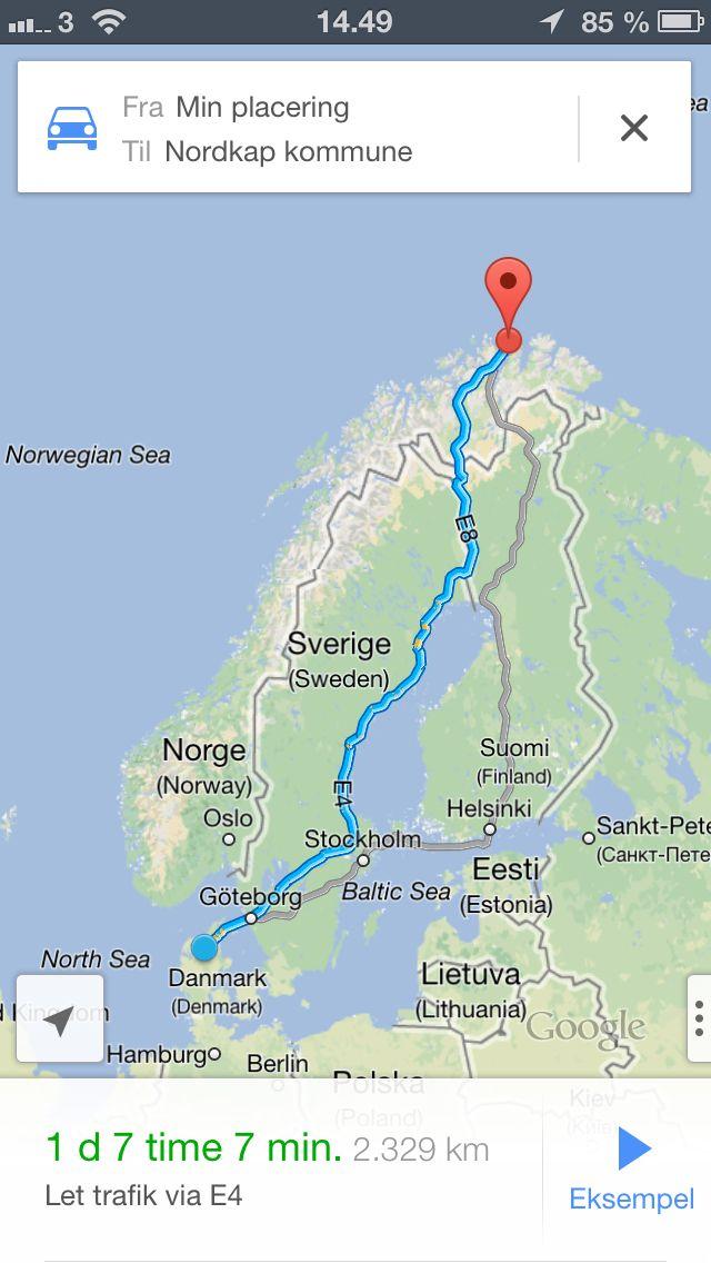 En rejse til Nordkap, og fotografere nordlys er helt klart en oplevelse jeg længe har ønsket mig, både at opleve naturen på vej der op, men også lyset der er på Nordkap, rejsen skal helst ligge i mellem december eller Januar da det er den tid på året der er mest nordlys.