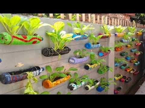 Unique Amazing Plastic Bottle Garden Decoration Ideas Ways To