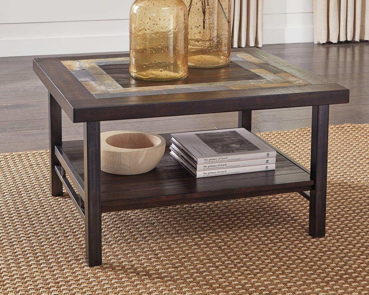 Gallivan Coffee Table Two Tone Brown Coffee Table Coffee Table Wood Decorating Coffee Tables [ 1018 x 1273 Pixel ]