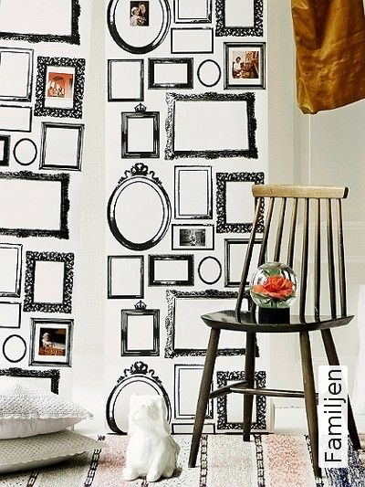 Bild Tapeten Familjen Bilderrahmen Wolle Kaufen Tapete Schwarz Weiß Ausgefallene
