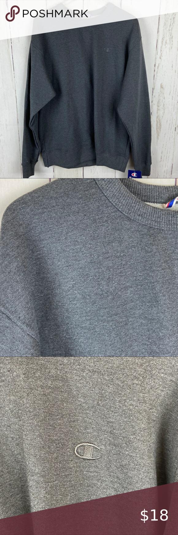 Hanes Premium Men S Fleece Crew Neck Sweatshirt [ 1000 x 1000 Pixel ]