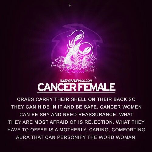 cancer zodiac personality female