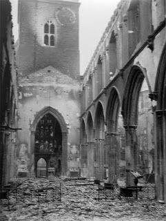 Medieval London : churches ST GILES OF CRIPPLEGATE