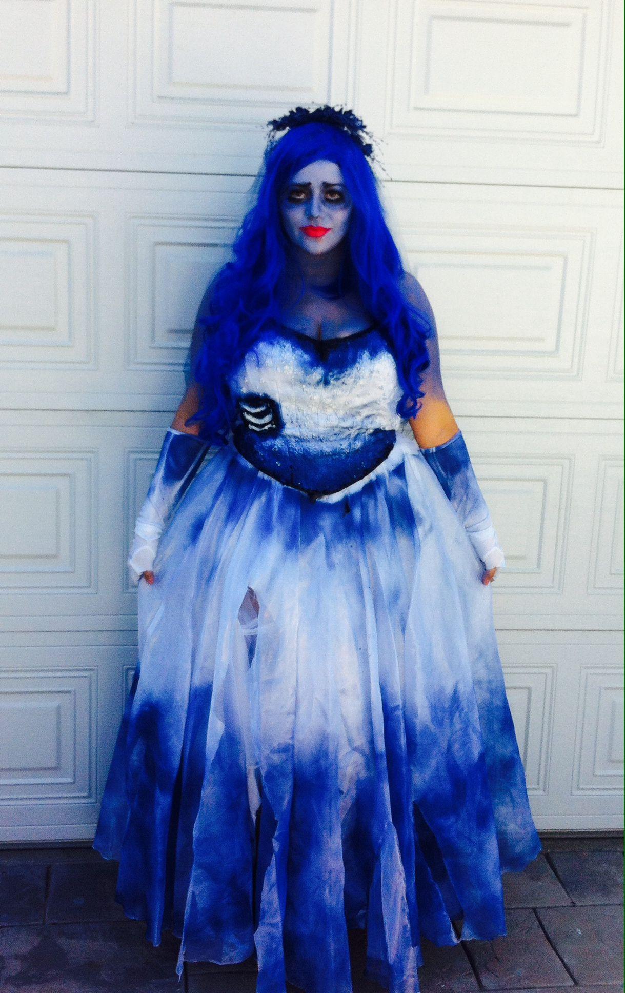 Corpse bride costume diy fashion 38