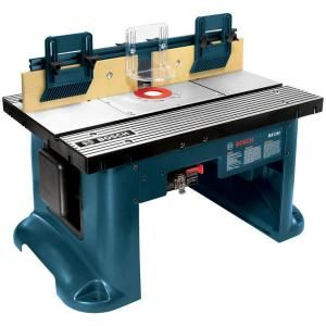 Bosch 15 amp corded 27 in x 18 in aluminum top benchtop router bosch router table ra1181 at the home depot for 18350 greentooth Gallery