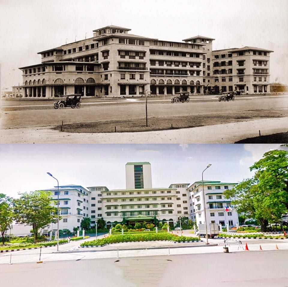 The Manila Hotel Location One Rizal Park Manila Philippines Wayback 1915 Philippines New Manila Manila Philippines