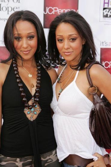 Black hair sexy twins