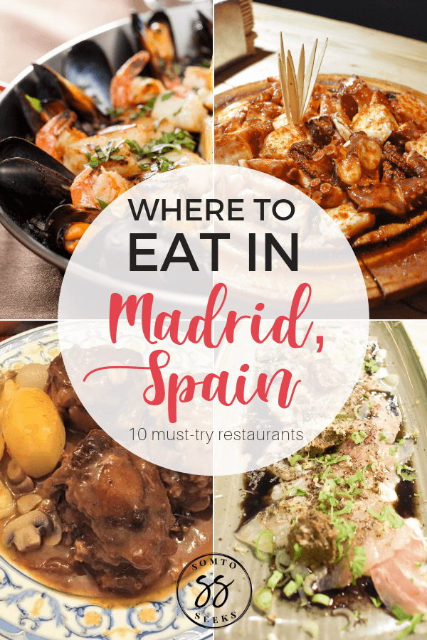 Where To Eat In Madrid 10 Best
