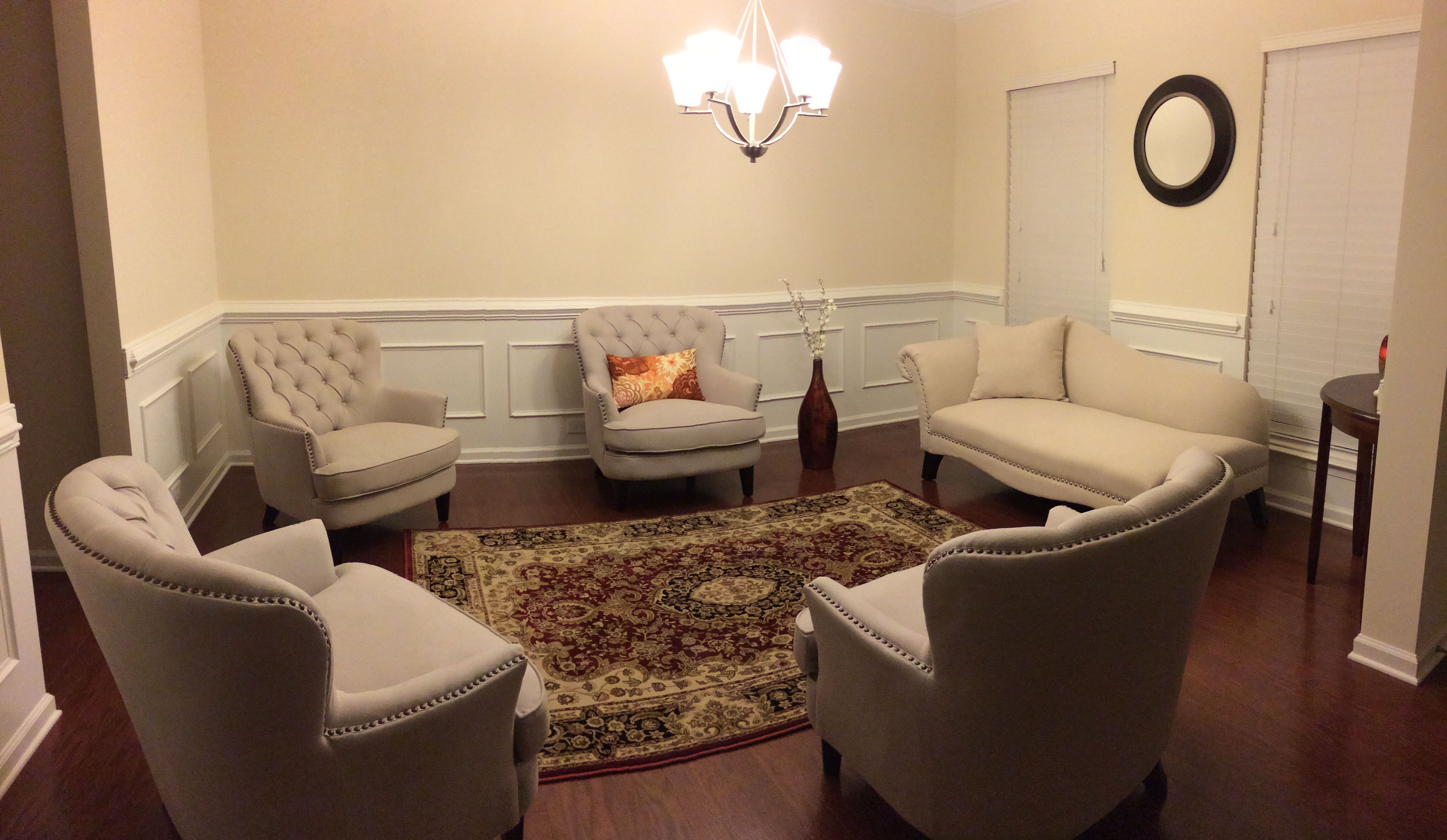 Converted The Formal Dining Room Into A Sitting New