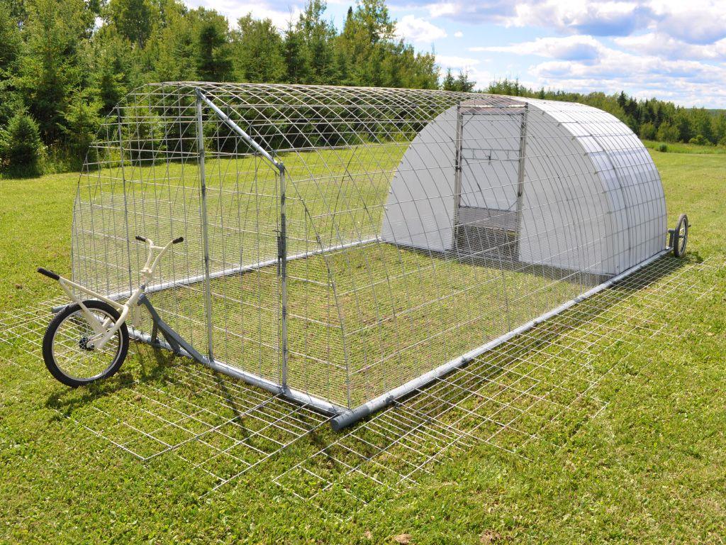 Porta-Pen Poultry Tractor DIY Plan | AtomicZombie DIY Plans | Chickens  backyard, Chicken coop, Chicken diy