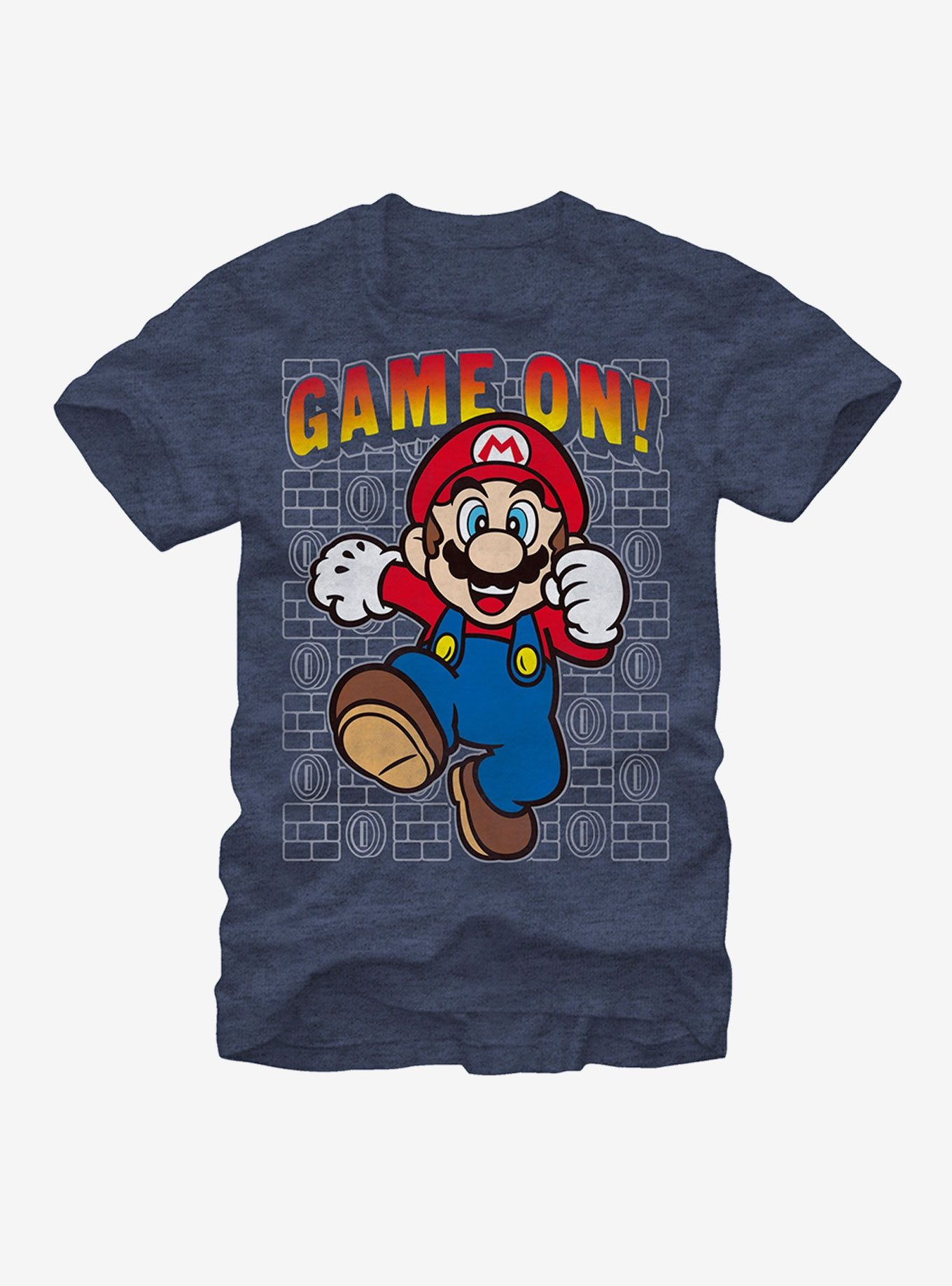 Nintendo Mario Game On TShirt in 2020 Video game t