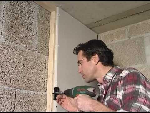 Contropareti Collegamento A Muro Con Struttura In Cartongesso Coimpertv Youtube Isolation Mur Isolation Plaque De Platre