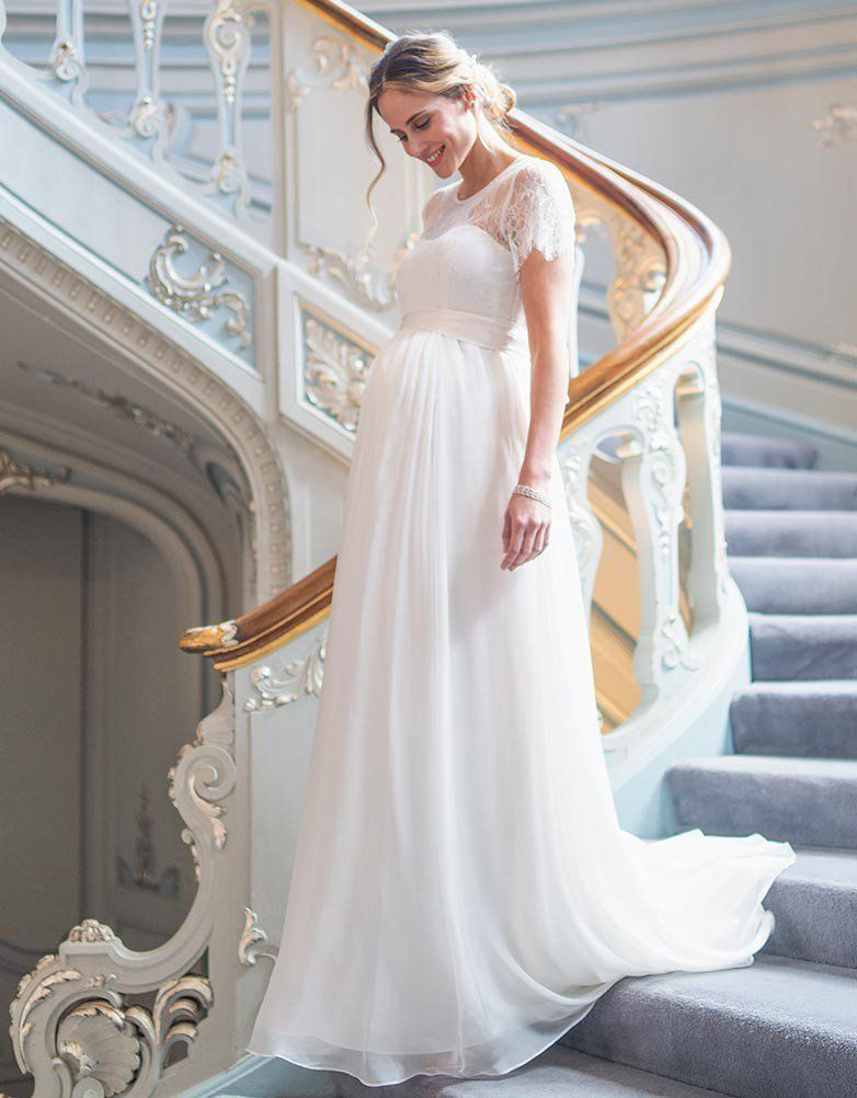 Pin On Maternity Wedding Dresses