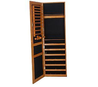 Gold Amp Silver Safekeeper Jewelry Cabinet W Wall Mount By
