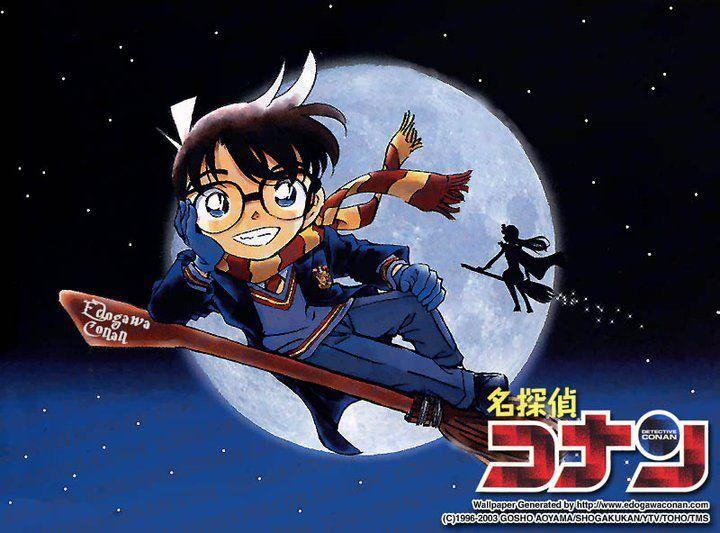 Edogawa Conan - Harry Potter theme
