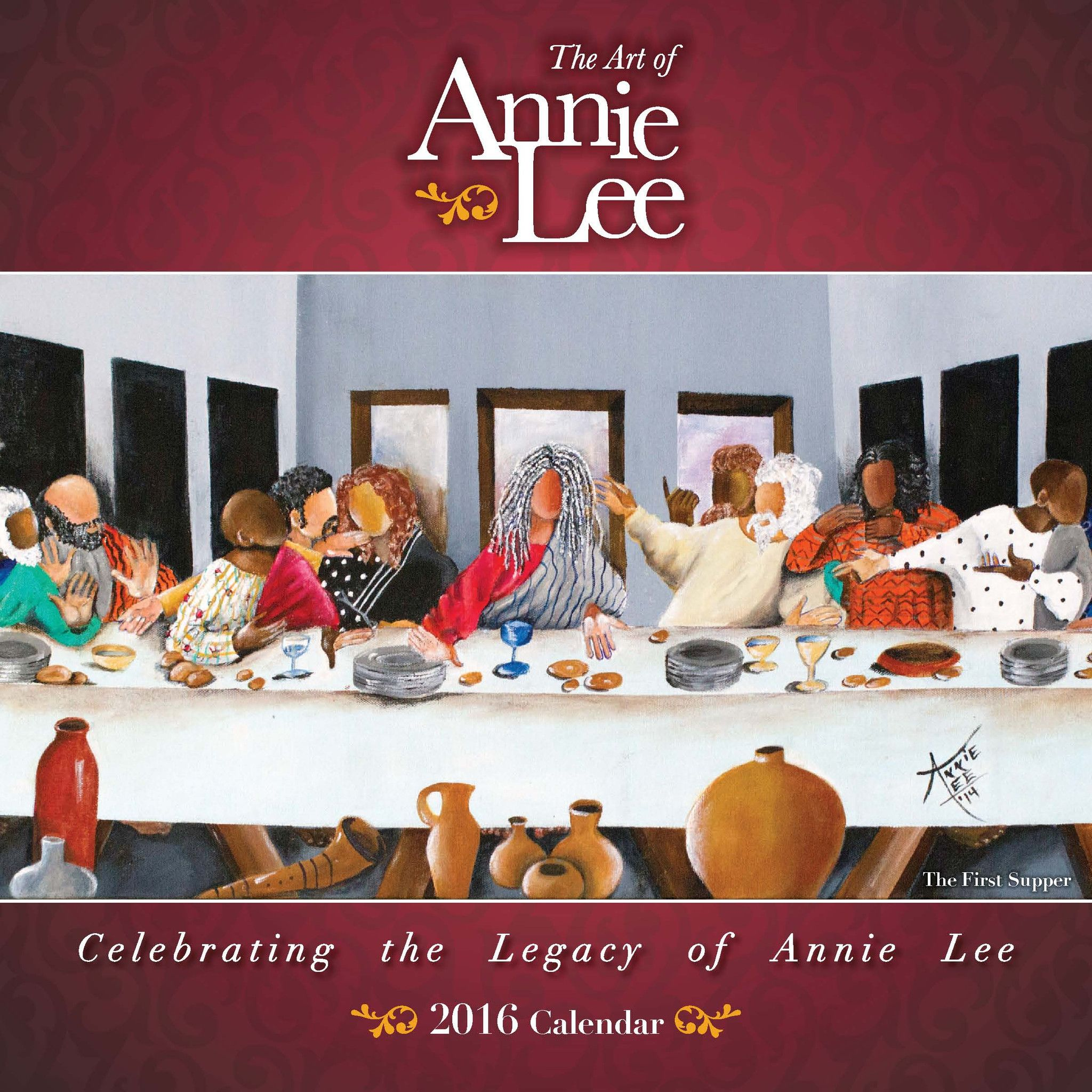 African American Wall Art And Decor the art of annie lee: 2016 african american wall calendar (front