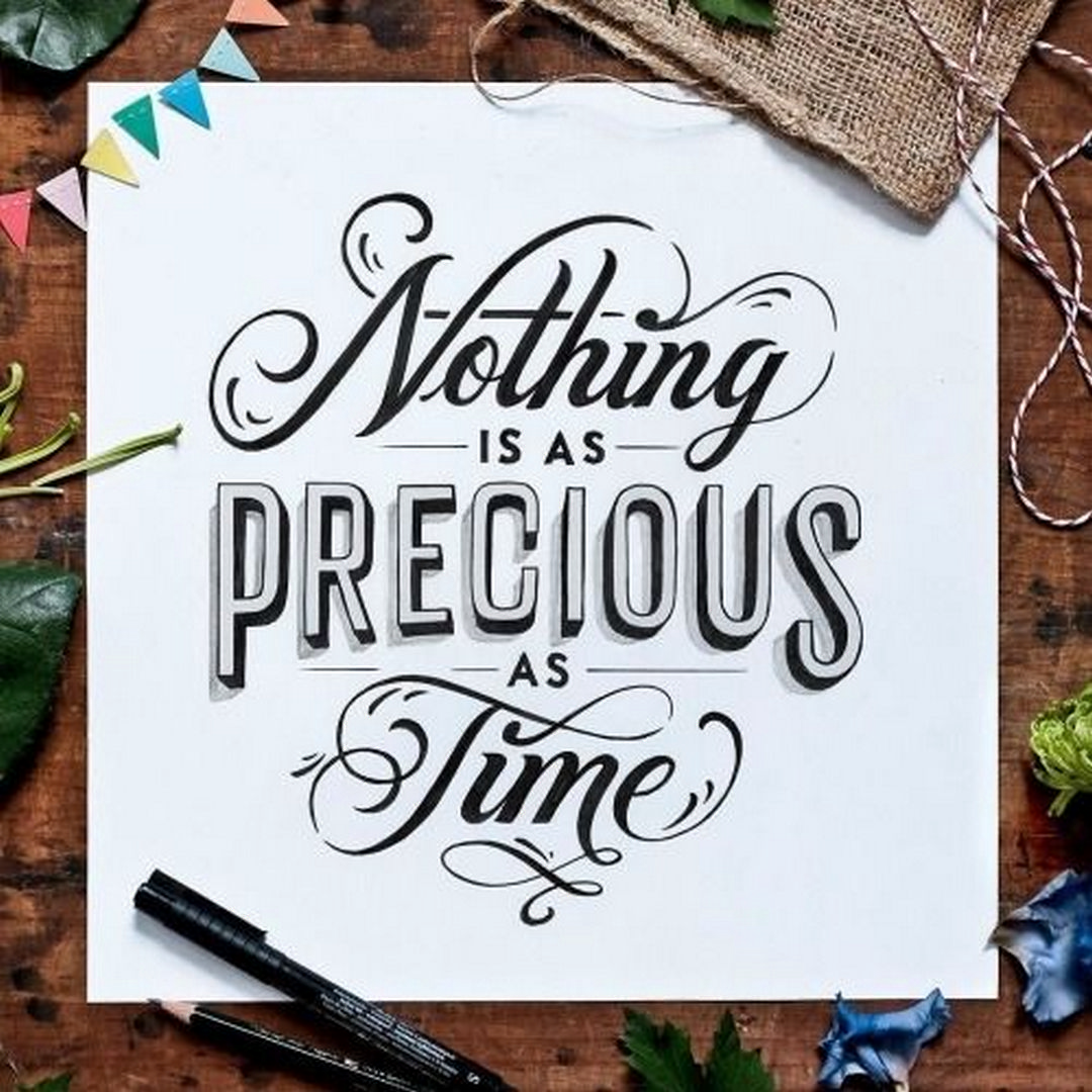 Beautiful Lettering Calligraphy Design 12