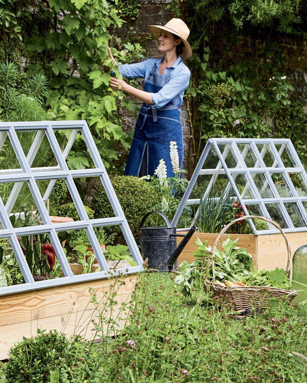 Marie Claire Maison Jardin Recup créer des serres pour faire pousser les tomates dans son