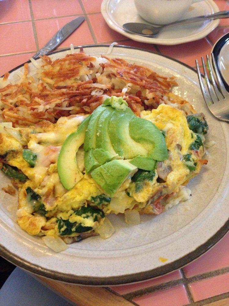 Fresno Breakfast House Fresno Ca United States Veggie Omlet W
