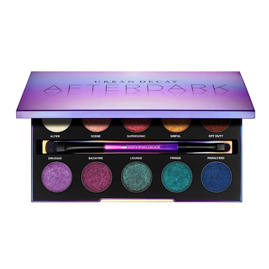 See What the New Urban Decay Afterdark Palette Looks Like on Different Skin Tones